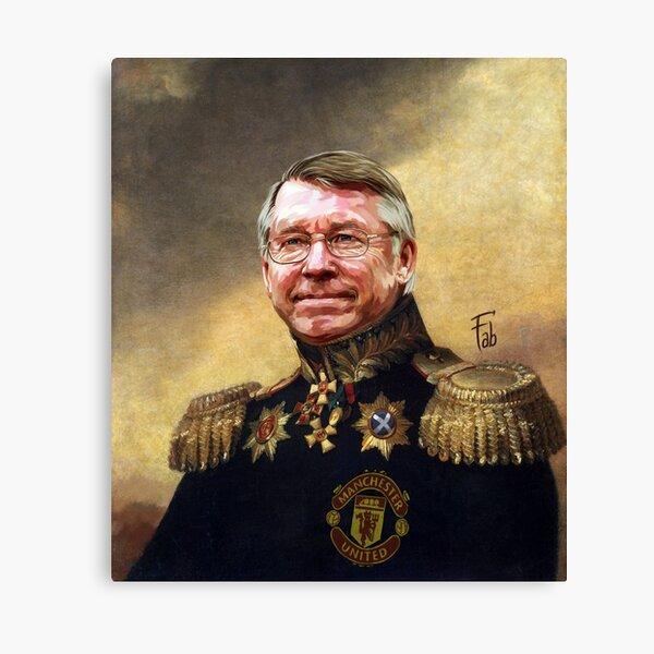Sir Alex Ferguson. Master of Football Canvas Print