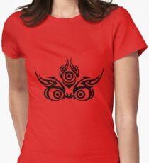 Mahakala (clear colors) Women's Fitted T-Shirt