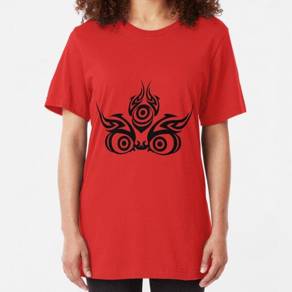 Mahakala (clear colors) Slim Fit T-Shirt
