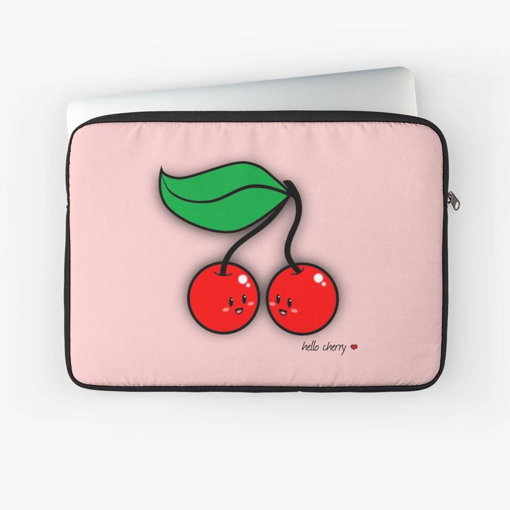Hello Cherry - two lof bees Laptop Sleeve