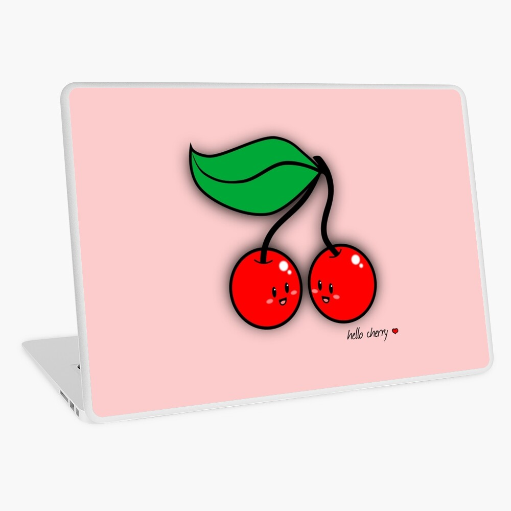 Hello Cherry - two lof bees Laptop Skin