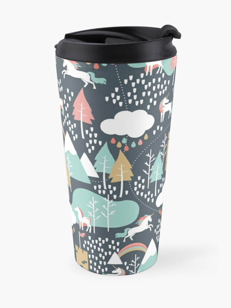 Alternate view of Unicorn Love Travel Mug