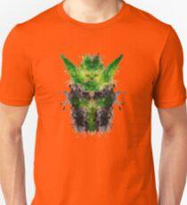 Rorschach Yoda Unisex T-Shirt