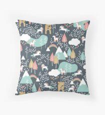 Unicorn Love Throw Pillow