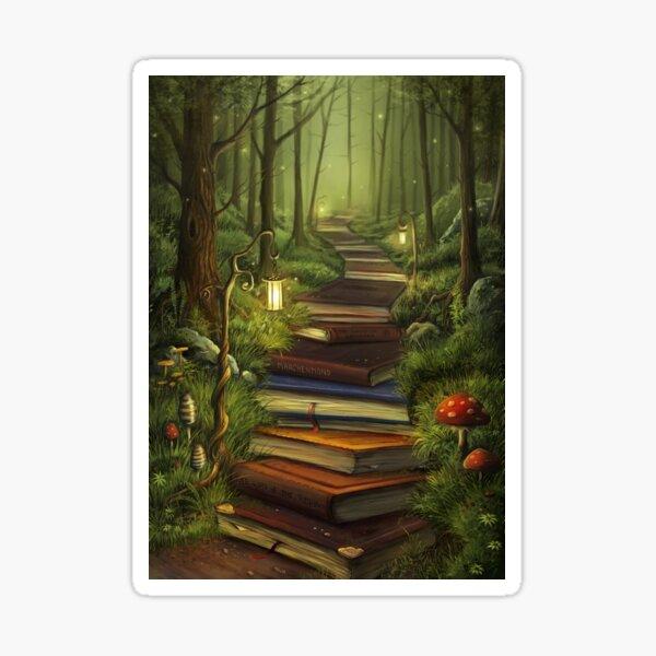 The Reader's Path Sticker