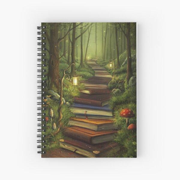 The Reader's Path Spiral Notebook