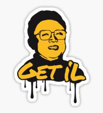 Get Il - Kim Jong Il Sticker