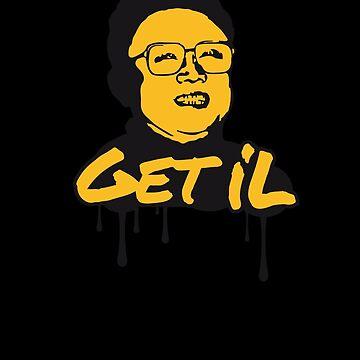 Bekomme Il - Kim Jong Il von badbugs