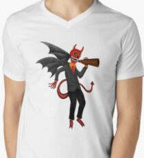 The Devil Appeared To Me Growling Through An Old Megaphone T-Shirt