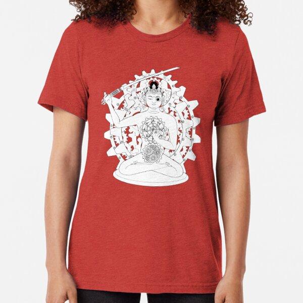 Steampunk Manjushri Tri-blend T-Shirt