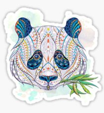 Ethnic Highly Detailed Panda Sticker