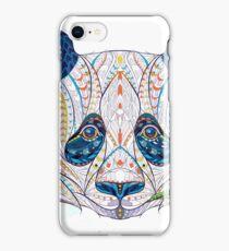 Ethnic Highly Detailed Panda iPhone Case/Skin