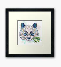 Ethnic Highly Detailed Panda Framed Print