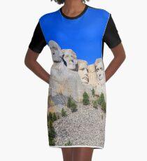Mount Rushmore Black Hills South Dakota Presidents Graphic T-Shirt Dress
