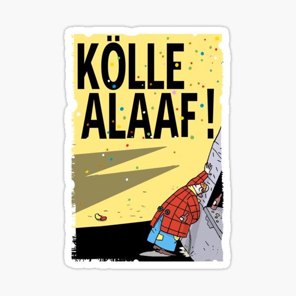 Cologne Carnival Sticker