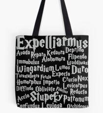 Expelliarmus Magic Spell Shirt Tote Bag