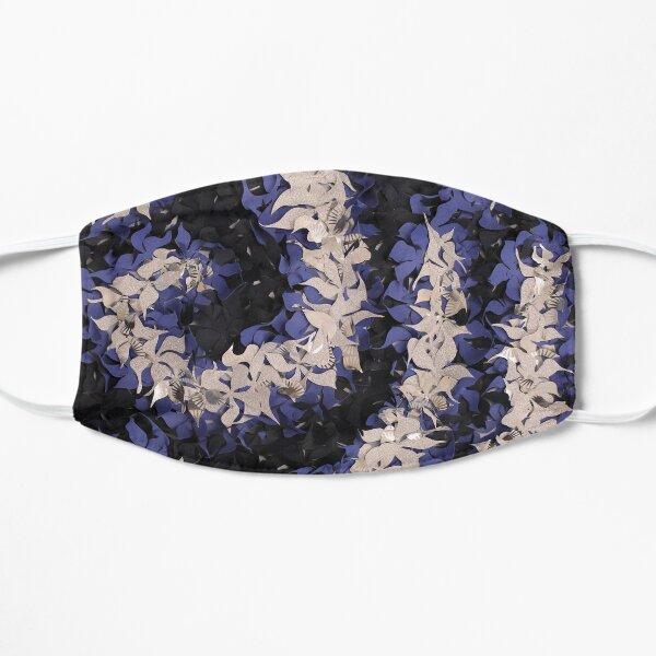 Midnight flowers Flat Mask