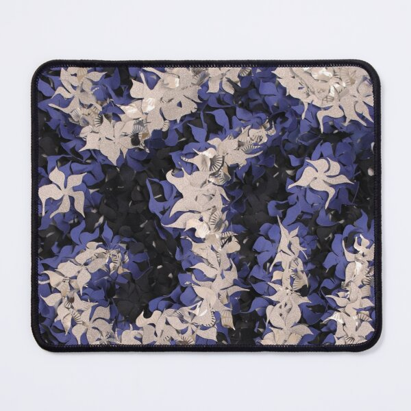 Midnight flowers Mouse Pad