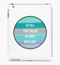 Christian Quote iPad Case/Skin