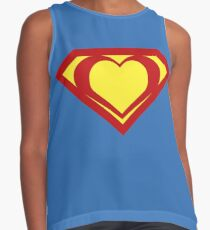 Heart of a Hero - Super Contrast Tank