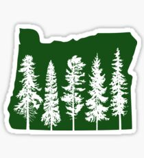 I left my soul in Oregon III Sticker