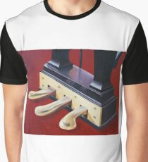 Piano Pedals Graphic T-Shirt