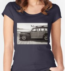 classic woodie Women's Fitted Scoop T-Shirt
