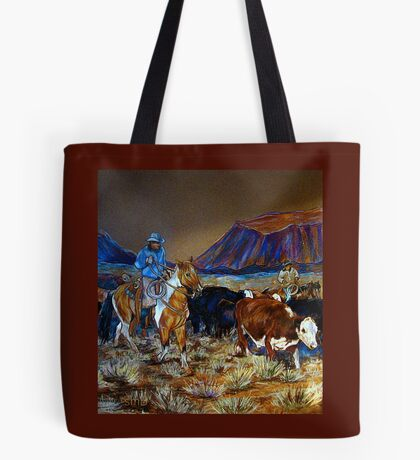 """Evening Roundup"" Tote Bag"
