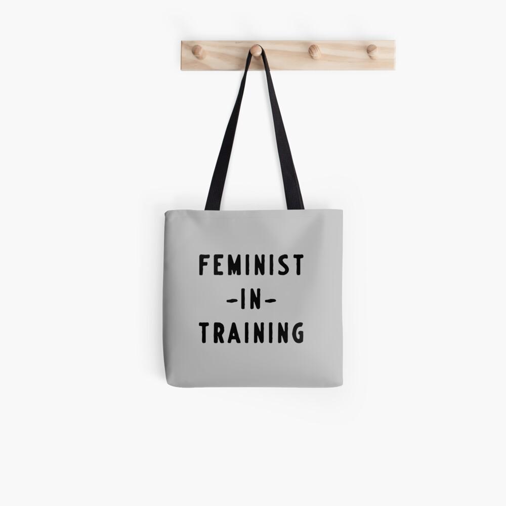 Feministin im Training Tote Bag