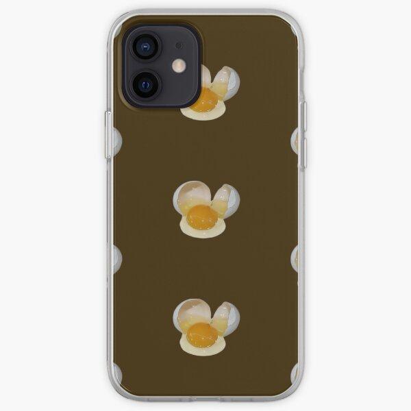 Cracked Egg iPhone Soft Case