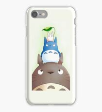 Totoro with his friends iPhone Case/Skin
