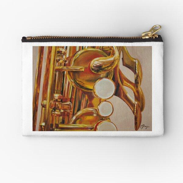 Saxophone Zipper Pouch