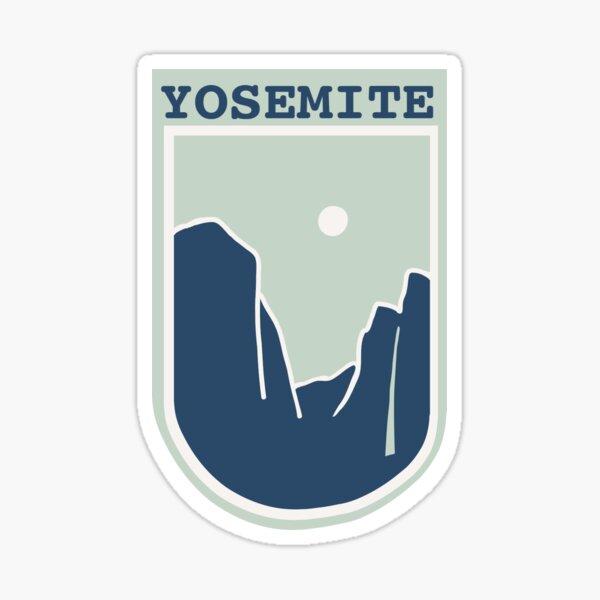 Yosemite Blue Sticker
