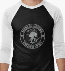 Murloc League Men's Baseball ¾ T-Shirt