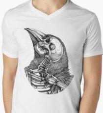 In uns Tshirt T-Shirt mit V-Ausschnitt für Männer