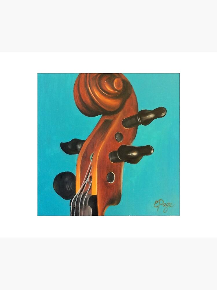 Violin Head by emilypageart