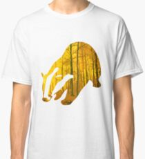 Badger yellow forest Classic T-Shirt