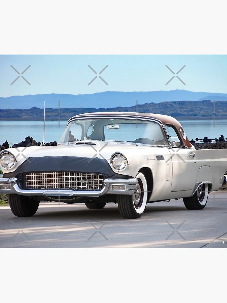 1957 Ford Thunderbird Convertible Hardtop by DaveKoontz