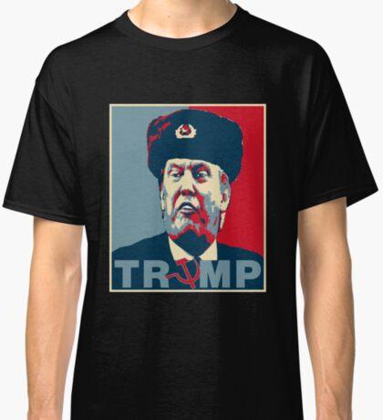 Trump Russia Poster Classic T-Shirt