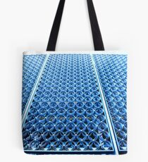 Blue Circles Tote Bag