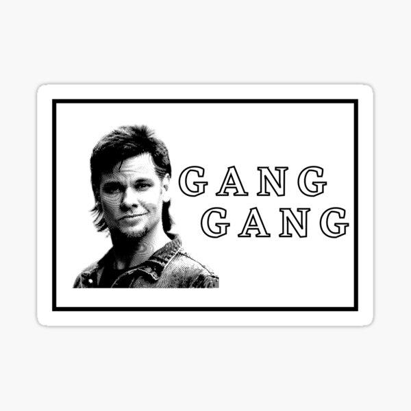 Theo Von 'Gang Gang' Sticker