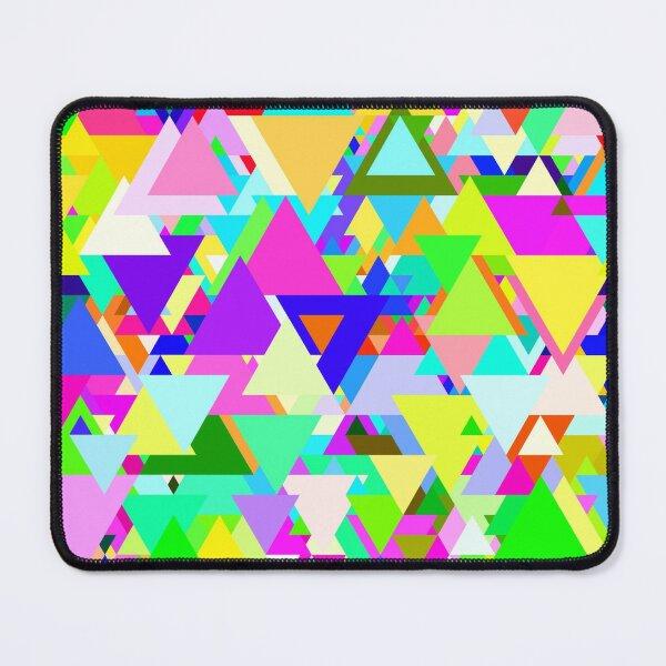 Random Triangles design Mouse Pad