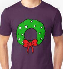 wreath for the door  T-Shirt