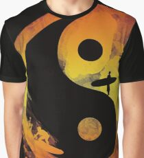 yin yang surfin V1 Graphic T-Shirt