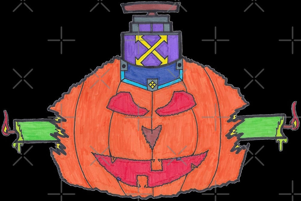 M.I. #30  ☽  Pumpkintraption by Naean