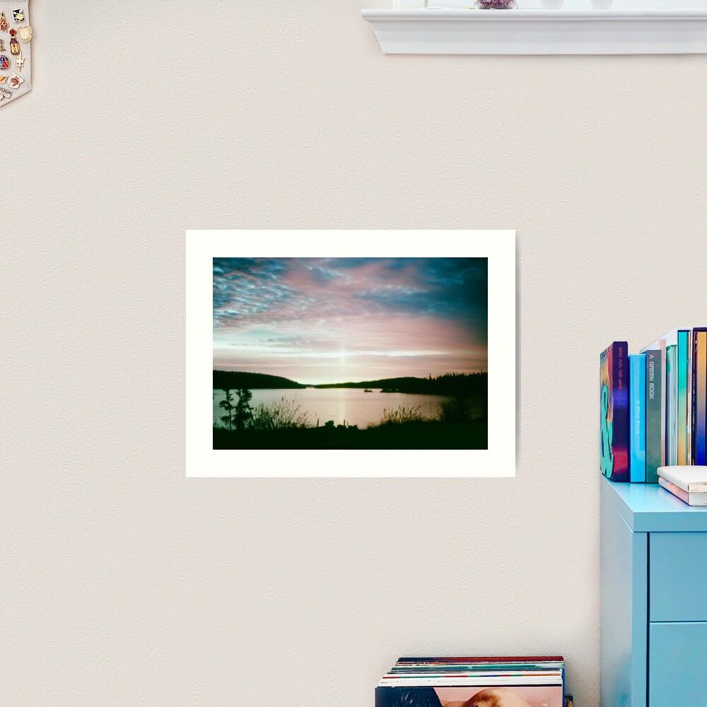 Beautiful Setting 1 Art Print
