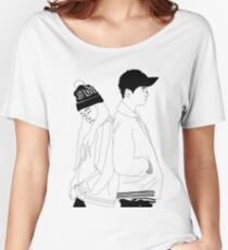 Dean and Heize kpop Women's Relaxed Fit T-Shirt