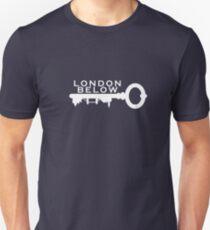 London Below Logo - White T-Shirt