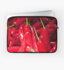 Red hot chilies for sale at the market in Amlapura in Bali, Indonesia Laptop Sleeve