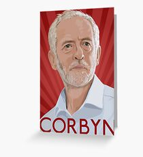 Corbyn Greeting Card